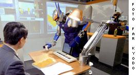 Roboto en U. de Tokio
