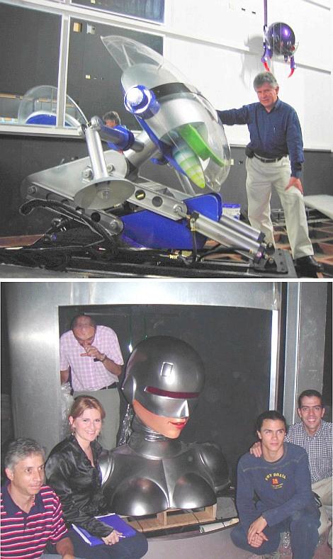 robotoj por Binara Mondo