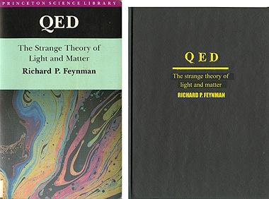 libro pri Kvantuma Elektrodinamiko: originala kaj kopiita