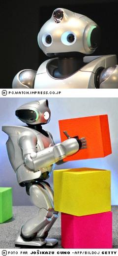 Triokula roboto QRIO